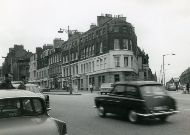 The Picardy Triangle just before demolition in the late 1960s. Picture: Contributed