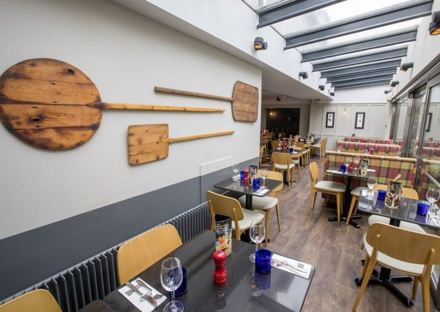 First Look Pizza Express Queensferry Street Receives