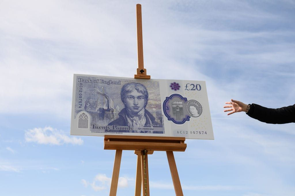 Here's how to reveal a hidden animated painting in the new £20 note using Snapchat