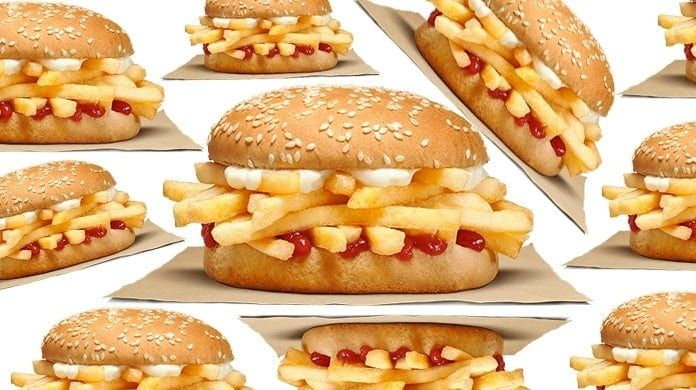 Burger King is testing a new sandwich that's just like the classic chip butty