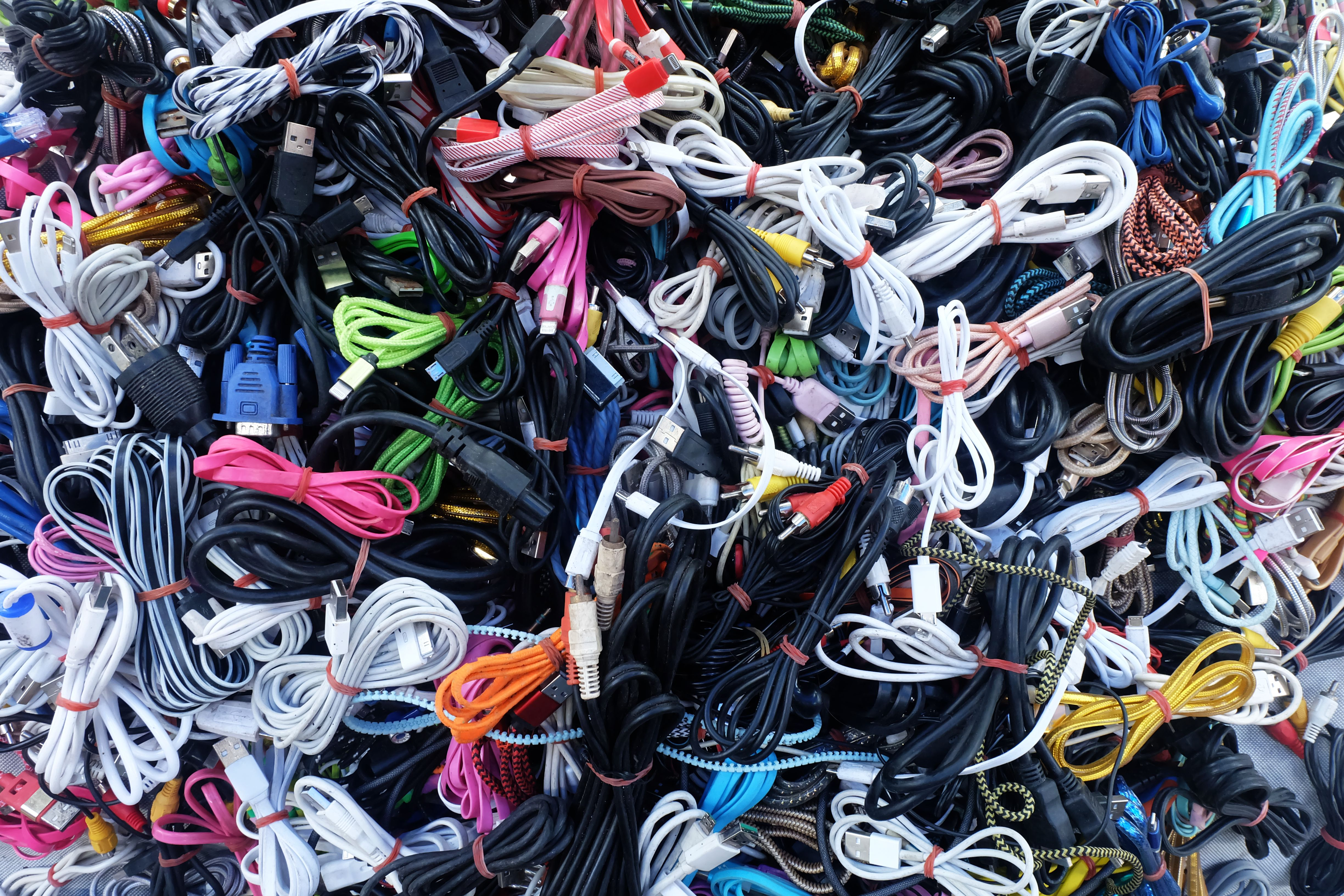 EU calls for common charger cables to fight global e-waste levels