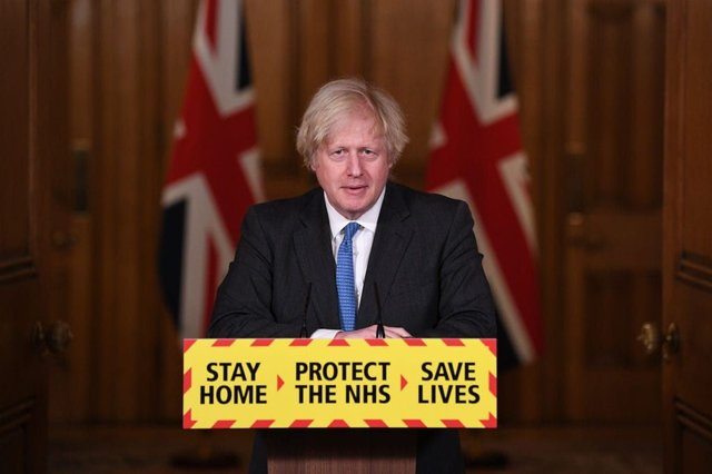 Boris Johnson will soon receive the crucial data which decides the UK's route out of lockdown (Photo by Stefan Rousseau - WPA Pool/Getty Images)