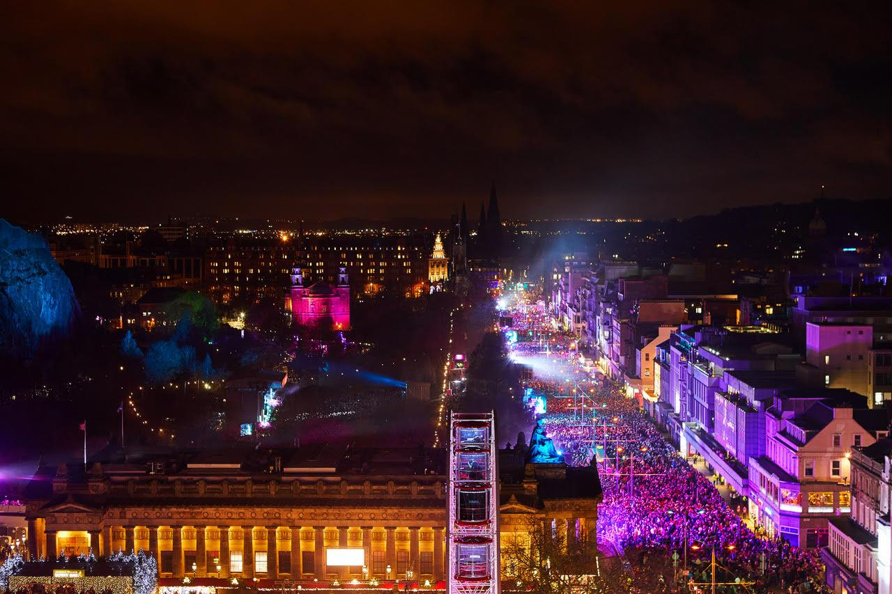 Win tickets to Edinburgh's Hogmanay celebration