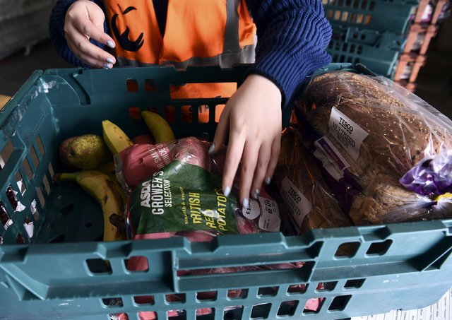 The growth of food bank use over the last ten years is a scandal, says Ewan Aitken. Picture: Lisa Ferguson