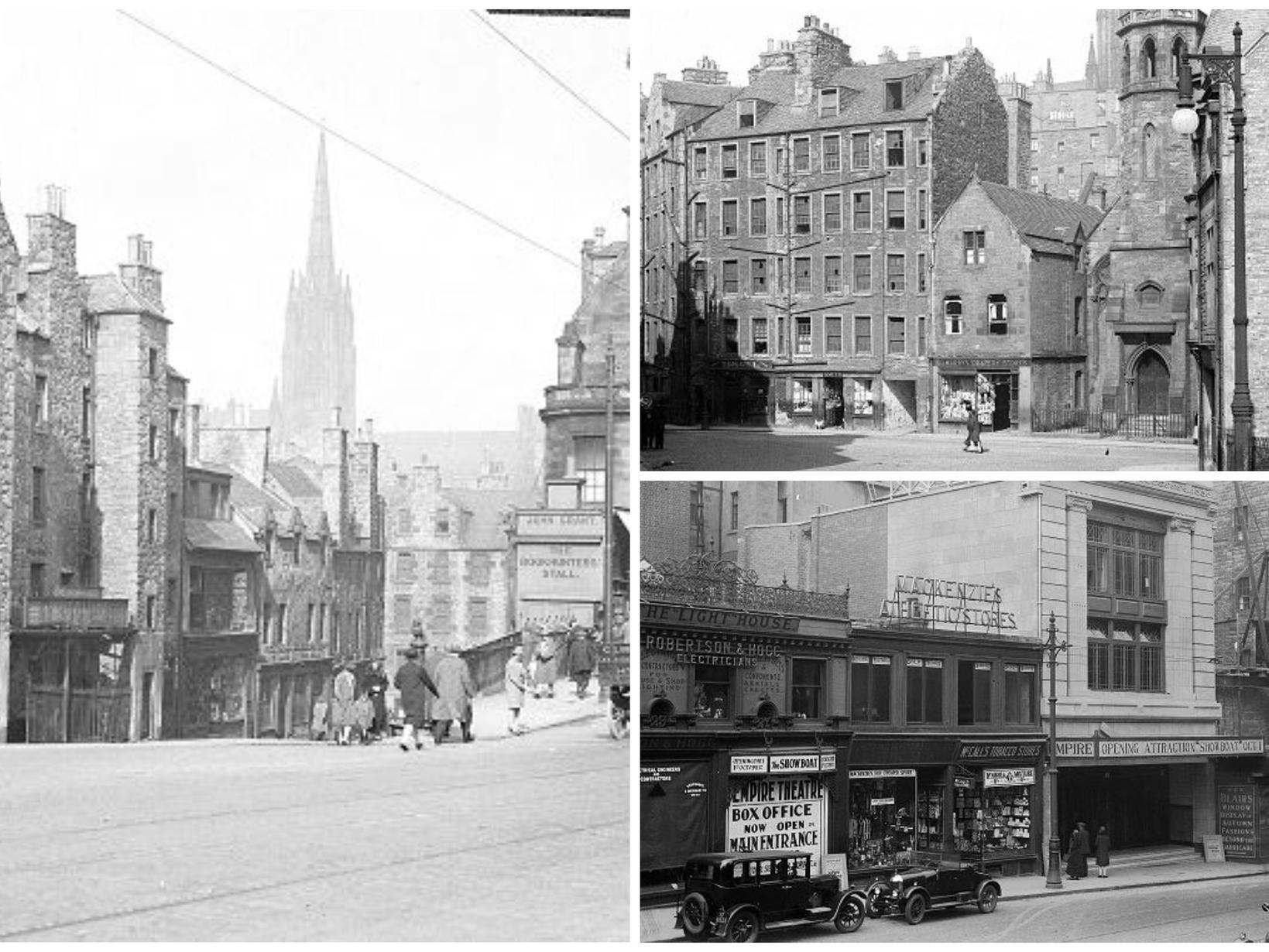 Amazing pictures show Edinburgh life in 1920s as Capital ...