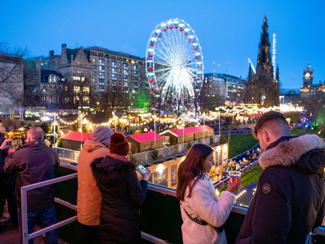 This year's Christmas Market in Princes Street Gardens was surrounded by controversy