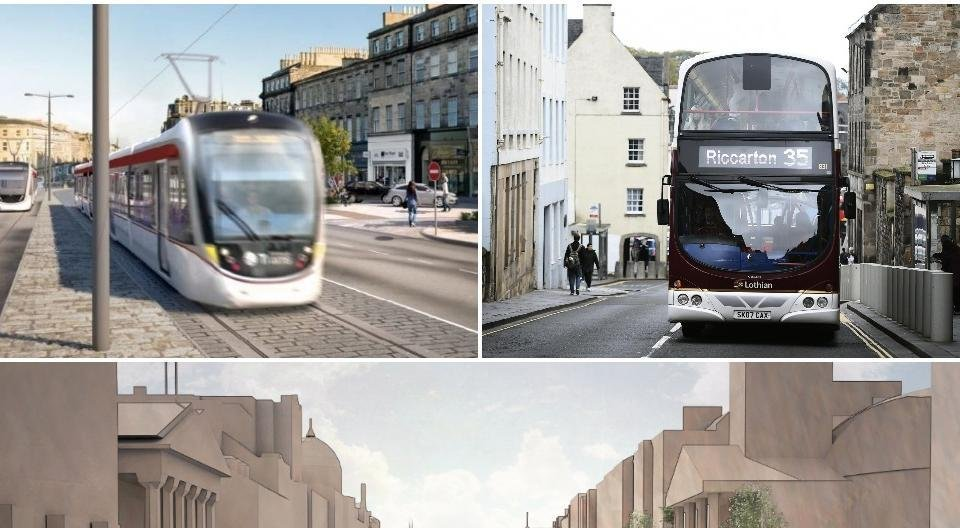 Everything you need to know about Edinburgh's 10-year transport transformation