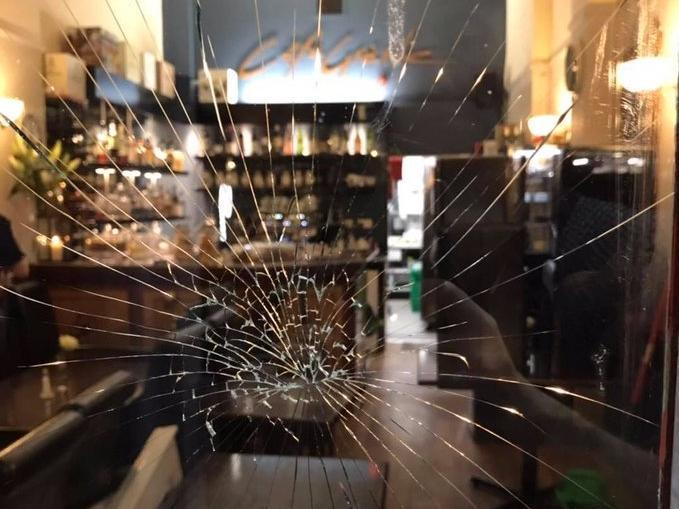 Smashed window as teenagers go on rampage in Edinburgh's Bruntsfield
