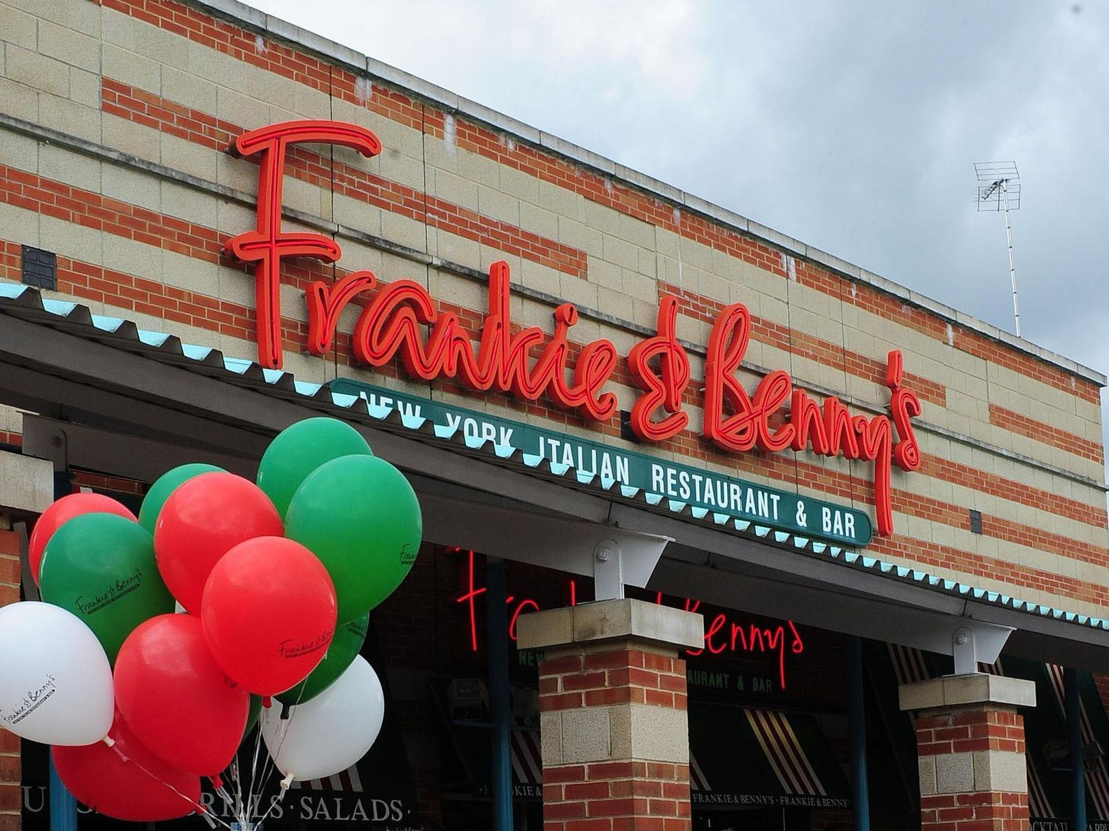 Frankie & Benny's owner The Restaurant Group to close up to 90 restaurants
