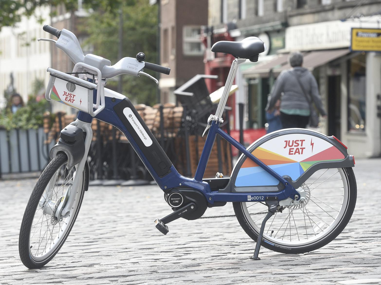 Edinburgh S Justeat Cycle Scheme To Add 42 New Hire Points Across