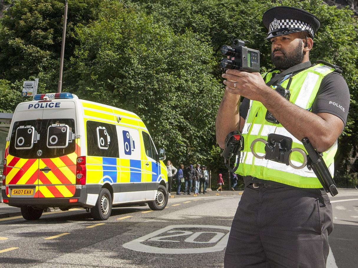 Edinburgh's worst speeders revealed including one driver caught going nearly three times the speed limit