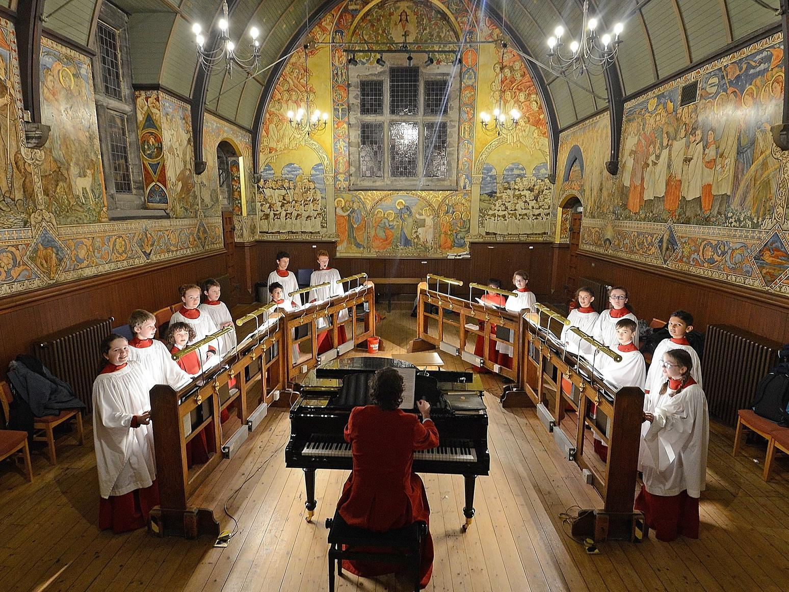 A Day in the Life: A chorister at St Mary's Music School