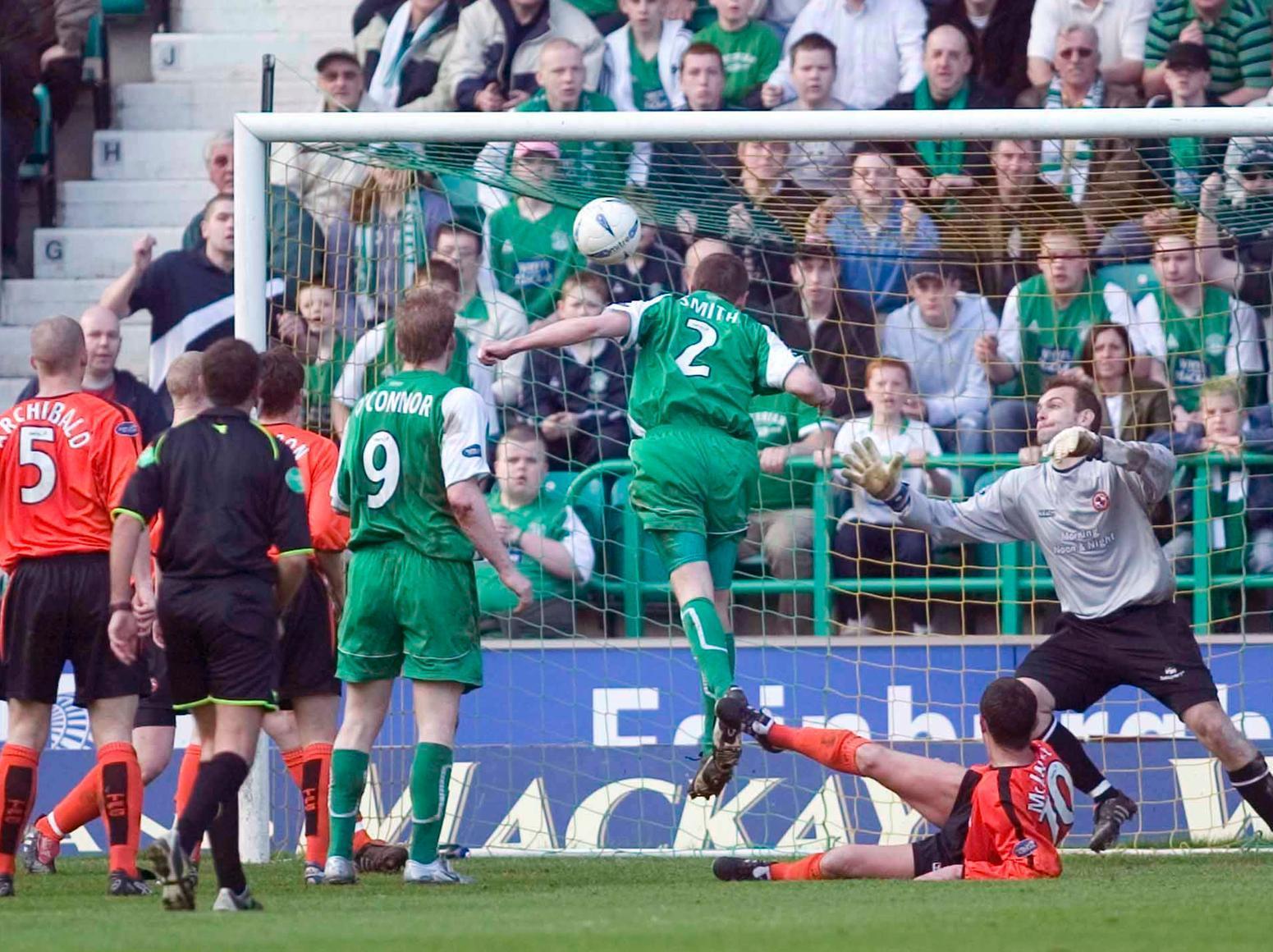 Hibee History: Gary Smith ensures a Hampden semi-final boost