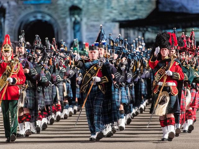 Royal Edinburgh Military Tattoo - March Off