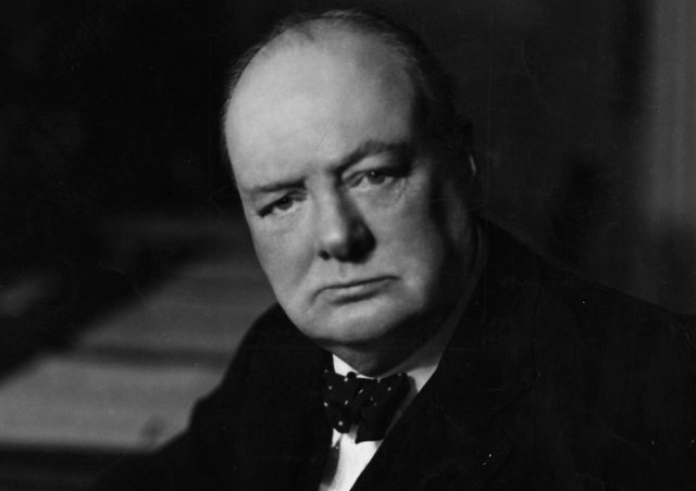 Britain's wartime leader Winston Churchill (Picture: Walter Stoneman/Hulton Archive/Getty Images)