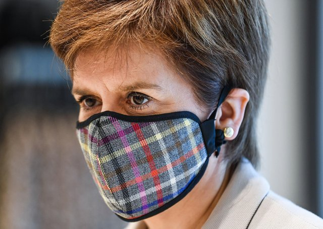 How will history judge our response to Nicola Sturgeon's leadership during the crisis (Picture: Jeff J Mitchell/PA Wire