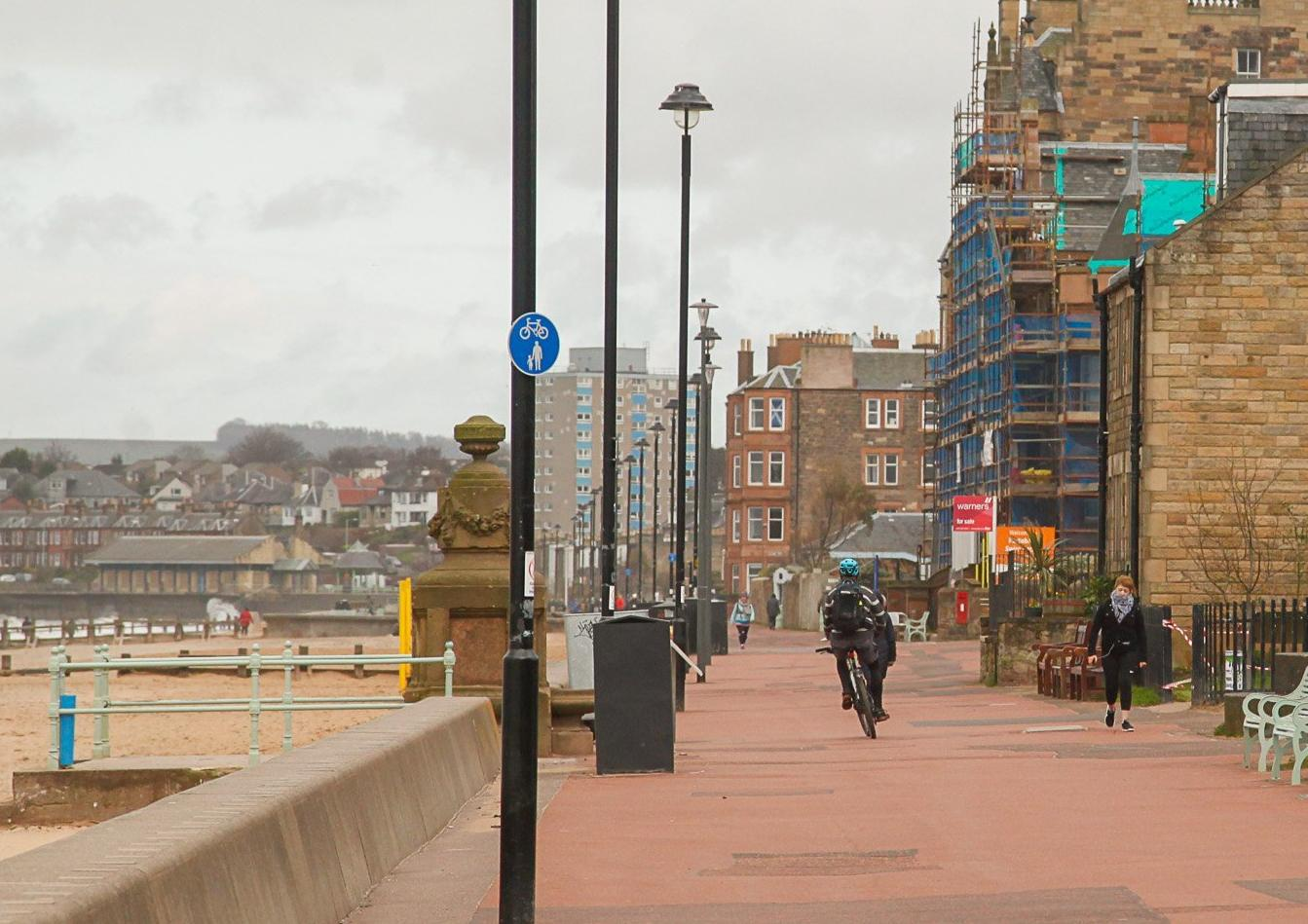 Why cyclists should be banned from Portobello Prom - Hayley Matthews