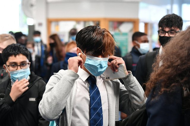 All remaining primary school children return to school full-time from March 15, with all secondary pupils returning on a part-time basis from that date (Photo: John Devlin).