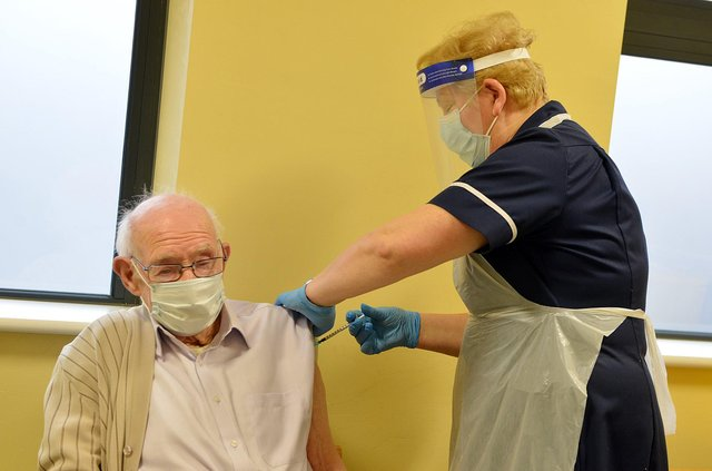 Scotland should trust GPs to handle the Covid vaccination process, says Alex Cole-Hamilton (Picture: Brian Eyre)