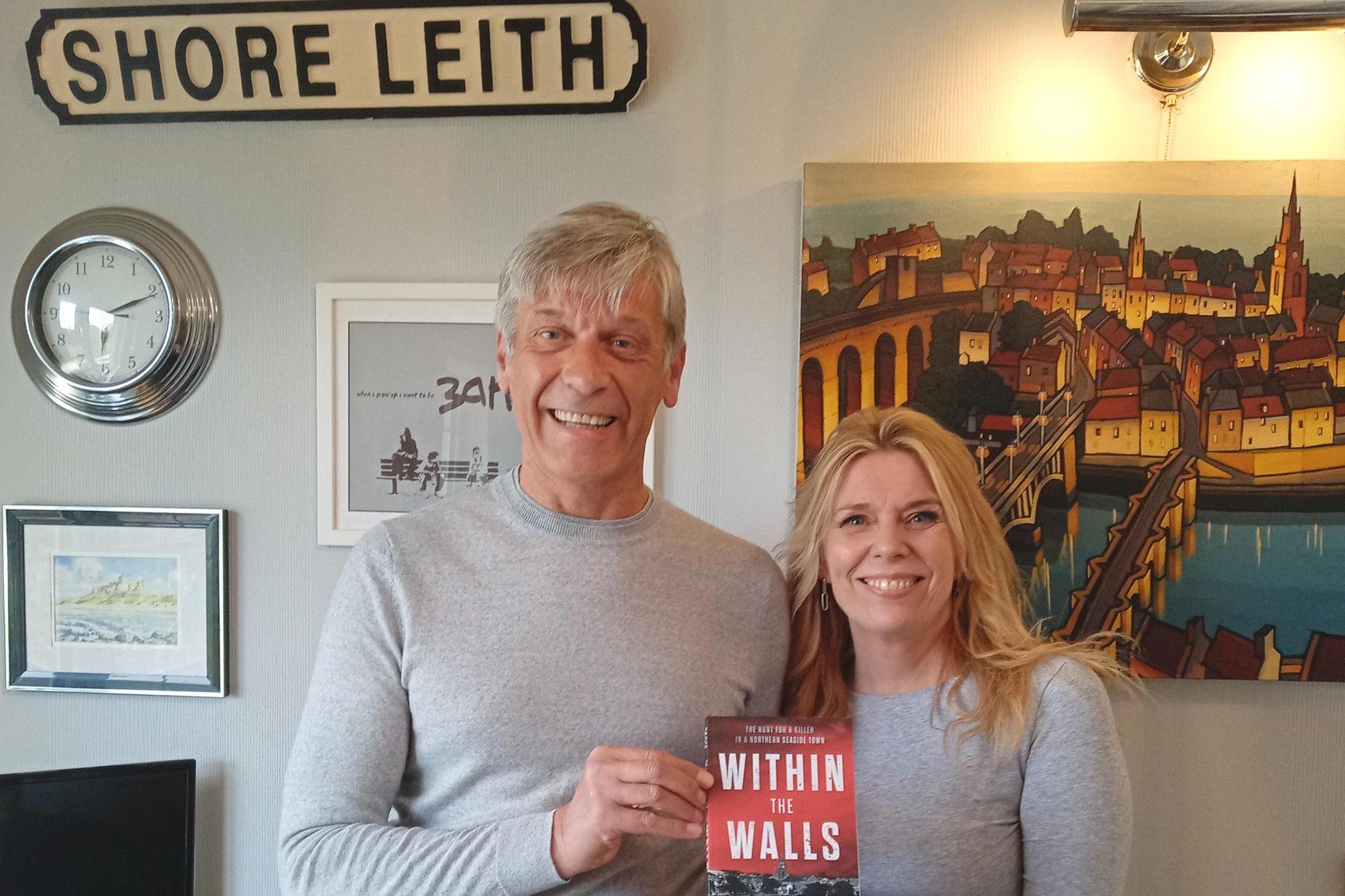 Retired Edinburgh firefighter writes debut crime thriller set in Berwick Upon Tweed