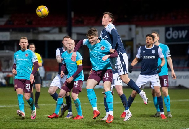 Dundee beat Hearts 3-1 the last time the teams met. Picture: SNS