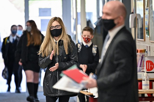 Pupils have faced widespread disruption as a result of the Covid pandemic (Getty Images)