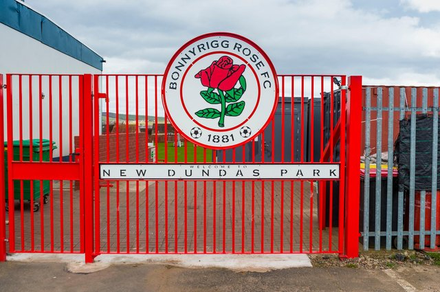 Bonnyrigg Rose have been dealing with a Covid outbreak ahead of their Lowland League opener against Celtic B. (Mark Scates / SNS Group)
