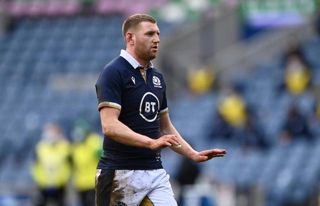 Finn Russell salterà la partita del Sei Nazioni della Scozia contro l'Italia a causa di una commozione cerebrale dopo aver battuto l'Irlanda.  (Immagine: Getty)