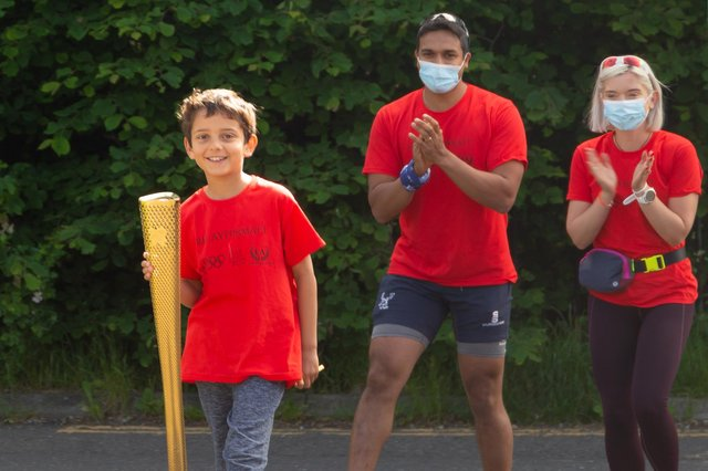 Edinburgh Academy schoolboy Daniel, brother of the late Matthew Tambyraja, led the charge in the touching charity effort.