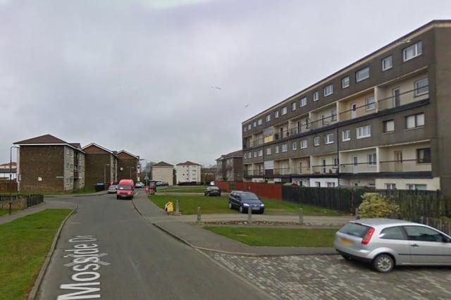 Mosside drive in Blackburn, West Lothian. Pic: Google