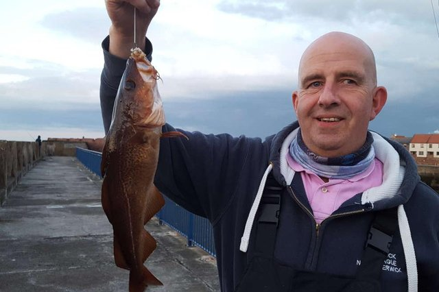 West Barns-based angler Alan Brown enjoyed a successful day at the first Bass Rock Summer League meeting of the season. Picture: Nigel Duncan