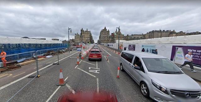 North Bridge will be closed as the refurbishment continues.