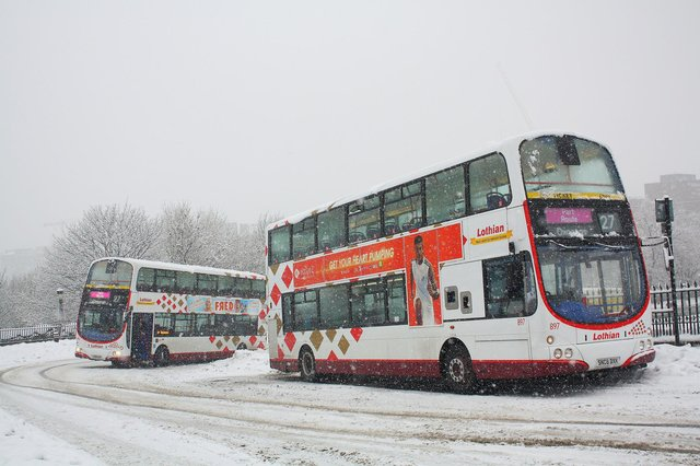 Services 27s during 2010 big freeze