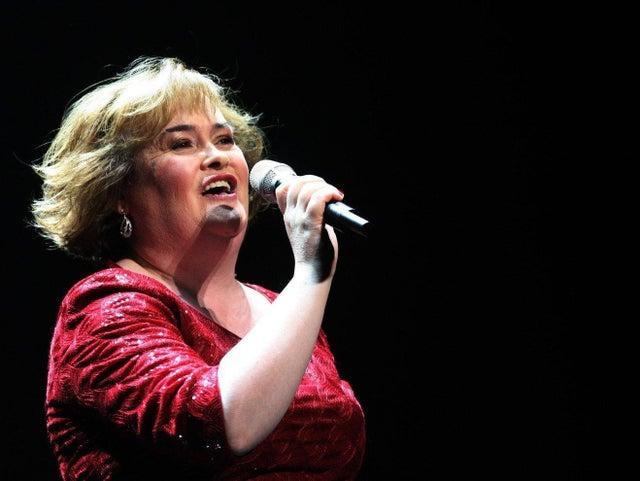 Diabetes concerns: Susan Boyle