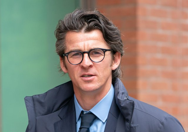 Joey Barton arrives back at Sheffield Crown Court. Picture: Danny Lawson/PA Wire