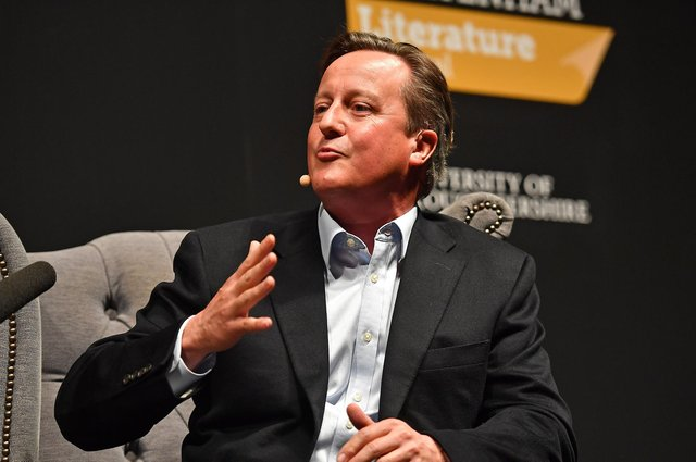David Cameron has admitted he should have contacted ministers through 'formal' channels when lobbying on behalf of finance firm Greensill Capital (Picture: Jacob King/PA)