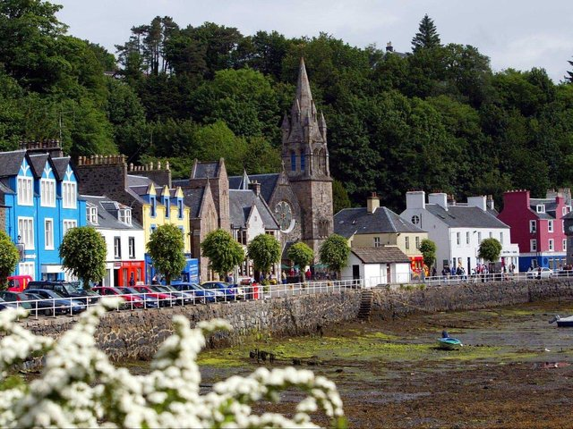 A view of the Isle of Mull in Scotland's Western Isles, which have suffered from population decline in recent years