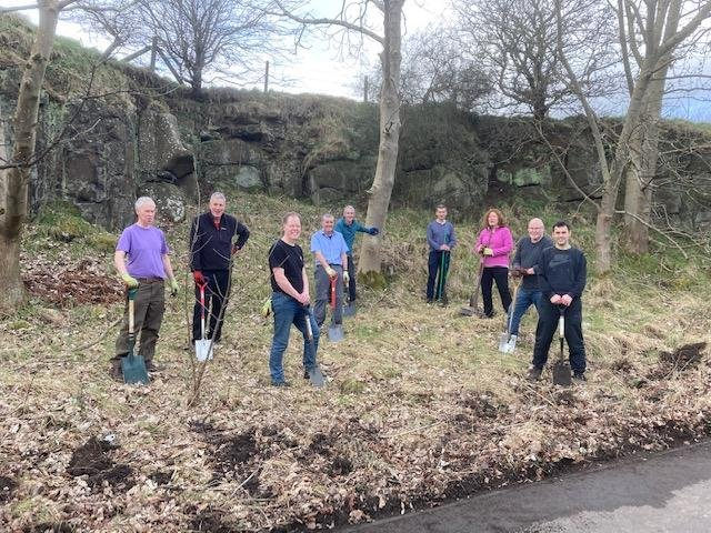 Residents creating their own 'Spaces for People'