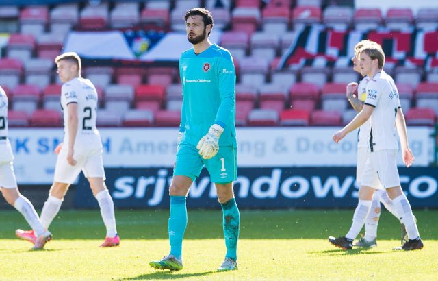 Craig Gordon's has been Hearts' best player this season. Picture: SNS