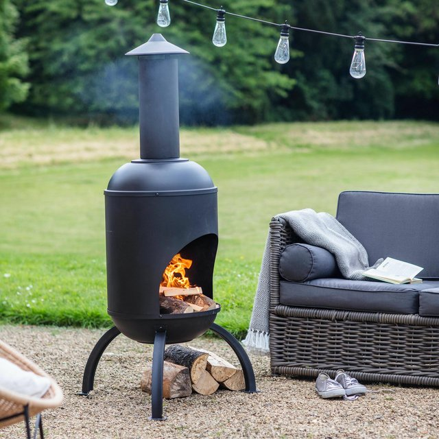 Chiminea outlets will do good business in the cold
