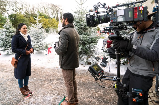 Vanessa Hudgens returns to Belgravia playing three doppelgängers (Pic: Netflix)