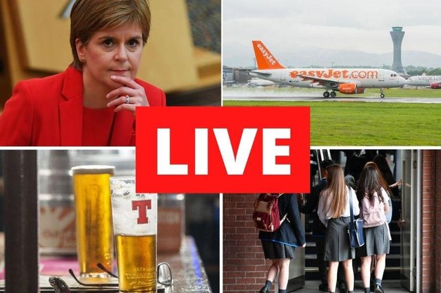 First Minister Nicola sturgeon is due to address parliament on Tuesday afternoon.