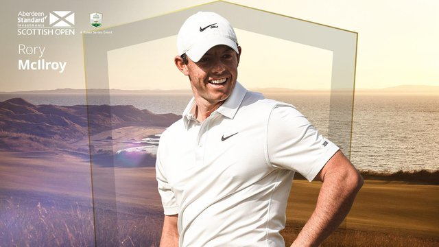 Four-time major winner Rory McIlroy has confirmed he's playing in the Aberdeen Standard Investments Scottish Open in a fortnight's time in East Lothian. Picture: Getty Images
