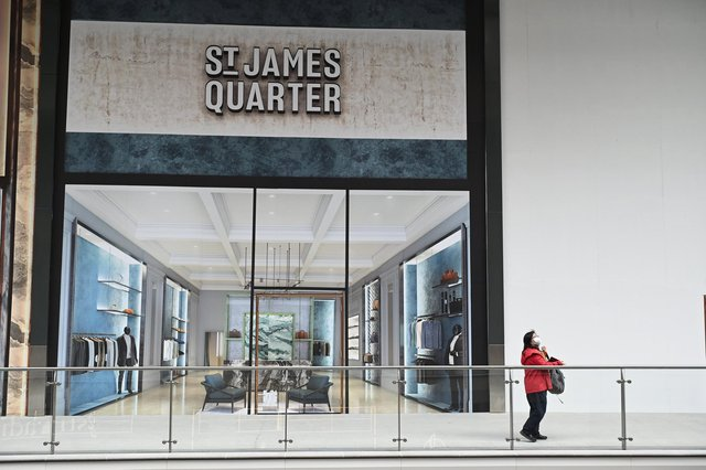 St James Quarter in pictures