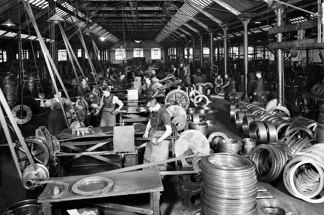 Bruntons Wire Mill dates back to 1876 and played a crucial role in Britain's World War II efforts. Picture: contributed.