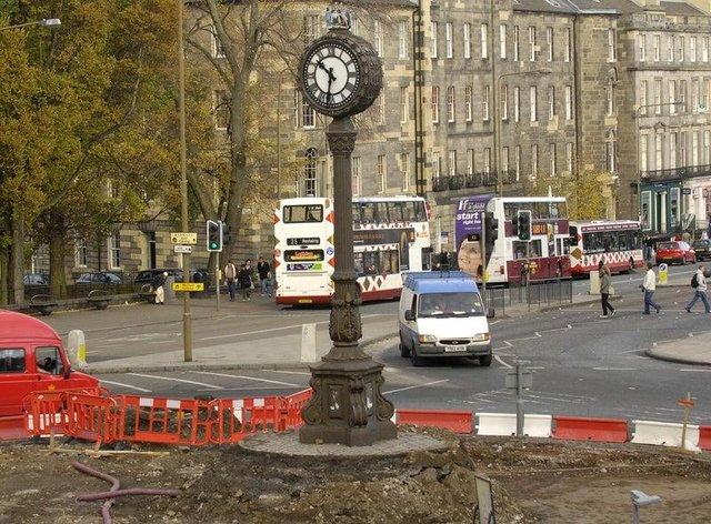 The London Road clock was removed in 2007, but will be reinstated later this year.