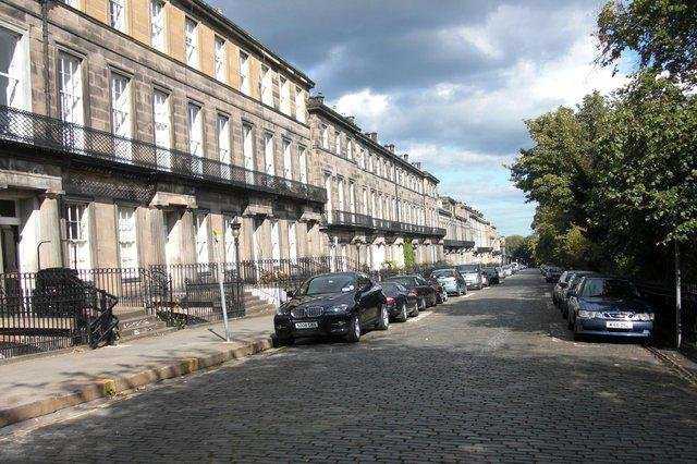 Homes on Regent Terrace, a UNESCO World Heritage Site, with city views which are protected by a skyline policy, have an average price of £1.75 million.