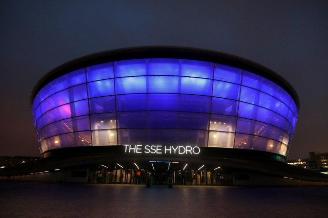 The SSE Hydro was the second busiest entertainment venue in the world before being shut down by the pandemic last March. Picture: Andrew Milligan