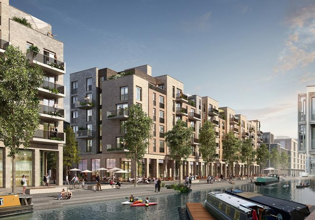 The development will see 436 new homes, including 113 for social rent