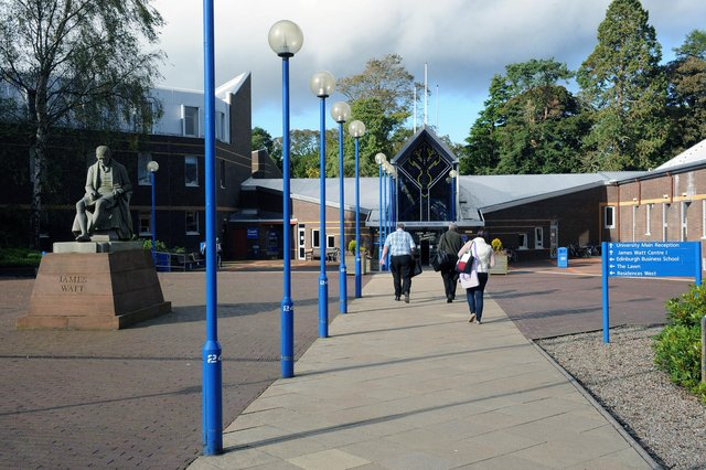 Heriot-Watt topped the table of universities that produce the most CEOs and MDs in Scotland. Picture: Ian Rutherford.